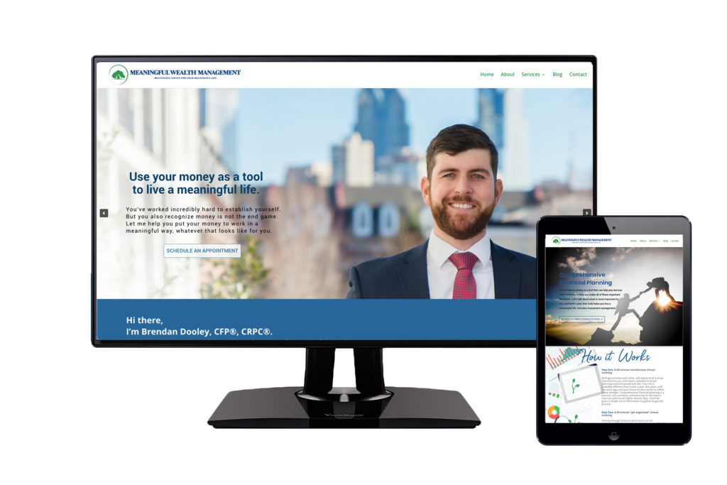Meaningful Wealth Management Website